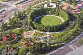Компания Arteza разработала ландшафтную концепцию развития общественных зон Доброграда