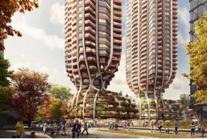 Heatherwick Studio: проект высотного жилого комплекса 1700 Alberni в Ванкувере