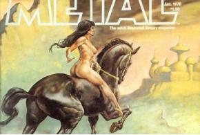 Heavy Metal Magazine Covers. 1978