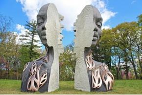 В Дендрарии Мортона открылась выставка скульптур Дэниела Поппера
