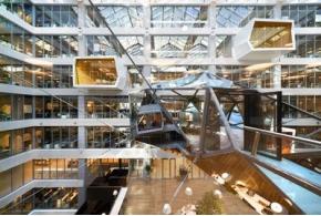 Новая штаб-квартира Сбербанка: интерьеры от Evolution Design и T+T Architects