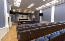 Актовый зал санатория «Строитель», Ижевск