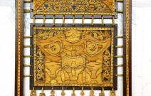 Декоративное панно, техника художественной обработки бересты