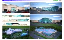 Архитектурная студия «ДГ ПРОЕКТ». ТРЦ с аквапарком. Москва