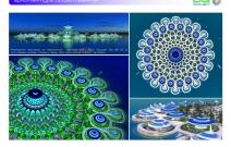 Архитектурная студия «ДГ ПРОЕКТ». Предпроектное предложение по архитектурному комплексу «EXPO 2020» на искусственных насыпных островах. Дубай, ОАЭ, искусственный архипелаг The World