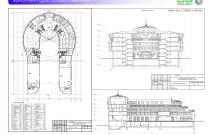 Архитектурная студия «ДГ ПРОЕКТ». Проект гостиничного комплекса. Москва
