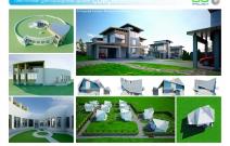 Архитектурная студия «ДГ ПРОЕКТ». Коттеджный поселок. МО
