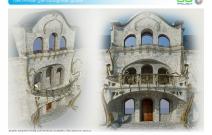 Архитектурная студия «ДГ ПРОЕКТ». Дизайн входной группы для частного особняка. Московская область