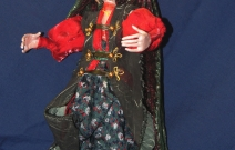 Портретная кукла - Маленький мук. Керамопластик, текстиль. Высота 360 мм.