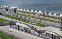 Ландшафтный дизайн набережной (2011).
