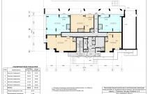 Архитектурное бюро MADE GROUP. Жилой комплекс «Аллея звезд» на бульваре Гагарина, 8 в Смоленске. План 1-го этажа