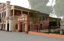 Архитектурное бюро MADE GROUP. Дом «купца Оглоблина» на углу улиц Красноармейская и Пастухова в Ижевске