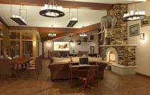 Архитектурное бюро MADE GROUP. Дом охотника. Интерьер