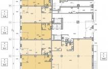 Архитектурное бюро MADE GROUP. Жилой комплекс «ECO Life Весна» на ул. К. Маркса в Ижевске. План 1-го этажа