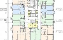 Архитектурное бюро MADE GROUP. Жилой комплекс «ECO Life Весна» на ул. К. Маркса в Ижевске. План 3-го этажа