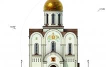 Архитектурное бюро MADE GROUP. Храм Святого Луки в Греции. Западный фасад