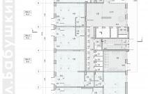 Архитектурное бюро MADE GROUP. Жилой дом «Париж» на улице Бабушкина в Ижевске. План 1-го этажа
