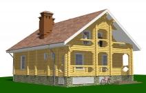 Проект малоэтажного дома