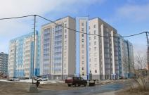 Проект многоэтажного жилого дома со встроенными административными помещениями в мкр. «Восточный», Новый Уренгой