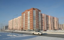 Проект жилого дома со встроенными помещениями в мкр. «Мирный», Новый Уренгой