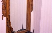 Рама для зеркала с приставным шкафчиком