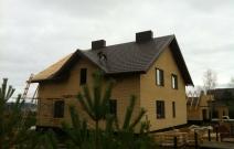 Строительство дома в д. Докша Завьяловского района Удмуртии, ул. Дачная