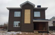 Строительство дома в п. Русь г. Ижевска, ул. Вишневая