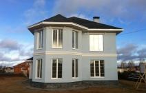 Строительство дома в п. Старое Михайловское Завьяловского района Удмуртии, ул. Рябиновая