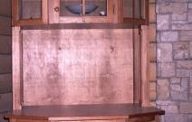 Шкаф с резными вставками