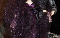 Портретные куклы - Таня и Дамир. Цернит, текстиль.