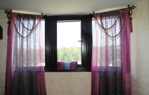 Восточные мотивы для окна.