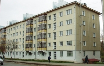 Жилой дом на улице Лихвинцева. Ижевск