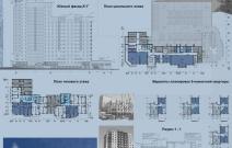 Жилой дом со встроенными административными помещениями и подземной автостоянкой, Ижевск